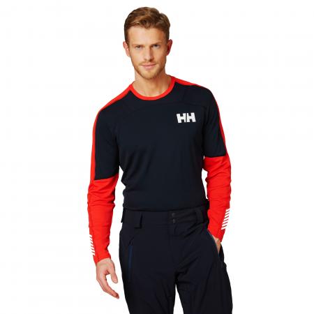 Bluza termica barbati Helly Hansen HH Lifa Active Crew bleumarin2