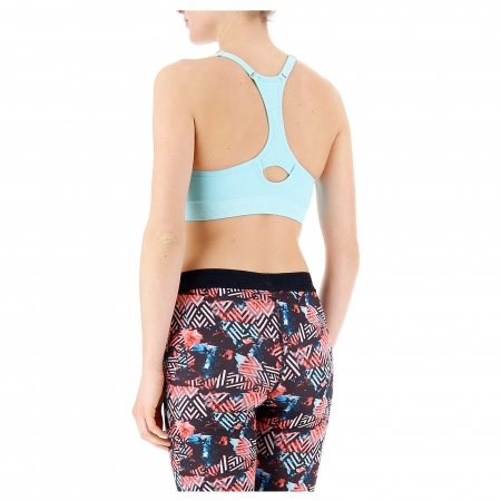 Bustiera femei Lotto WELL-FIT BRA PAD SML turcoaz1