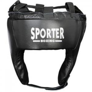 Casca box piele artificiala negru XL Sporter