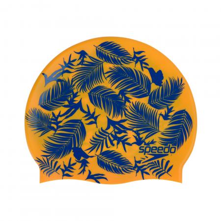 Casca inot pentru copii Speedo Slogan portocaliu/albastru0
