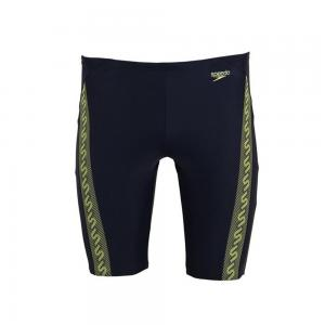 Costum baie jammer Monogram navy/green0