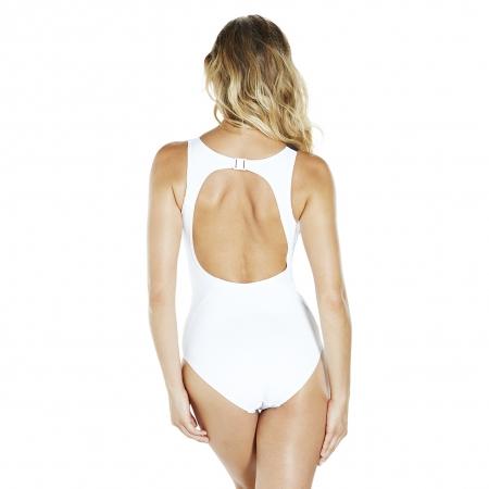 Costum de baie pentru femei Speedo Pureglow negru/alb3