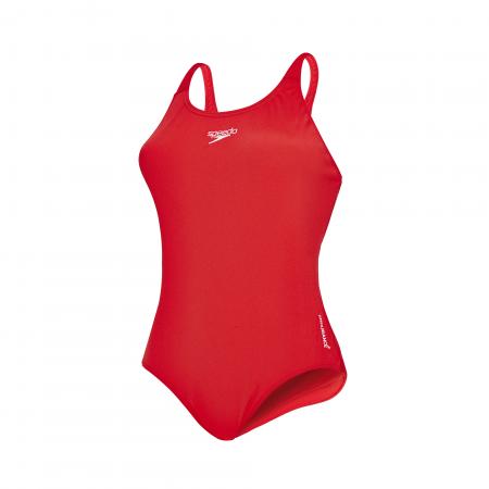 Costum inot femei Speedo Essential Endurance+ rosu0