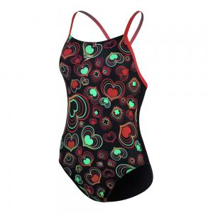 Costum Speedo Allover Rippleback negru
