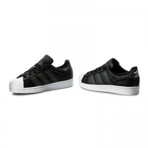 Pantofi sport dama Adidas Originals SUPERSTAR negru/negru/alb1