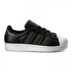 Pantofi sport dama Adidas Originals SUPERSTAR negru/negru/alb6