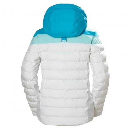 Geaca de ski femei Helly Hansen Imperial Puffy alb1