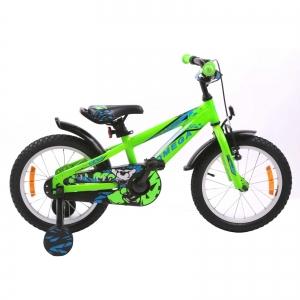 "Bicicleta copii Omega Gerald 20"" verde 2019"
