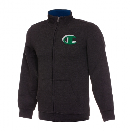 Hanorac cu fermoar sport copii Champion Sweatshirt Fall Fleece gri