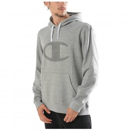 Hanorac cu gluga sport barbati Champion Hooded Sweatshirt gri