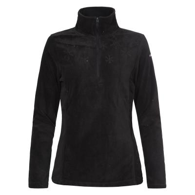 Hanorac fleece femei Ice Peak Noreen negru0