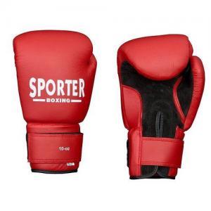 Manusi box piele artificiala 16oz Sporter