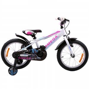 "Bicicleta copii Omega Master 16"" alb 2019"