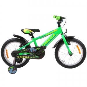 "Bicicleta copii Omega Master 20"" verde 2019"