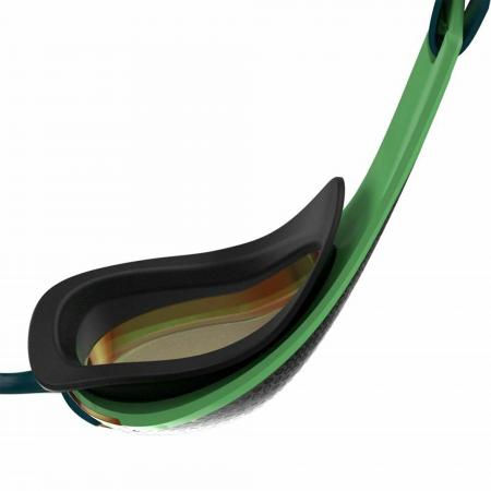 Ochelari inot adulti Speedo Fastskin Pure Focus Mirror verde/auriu3