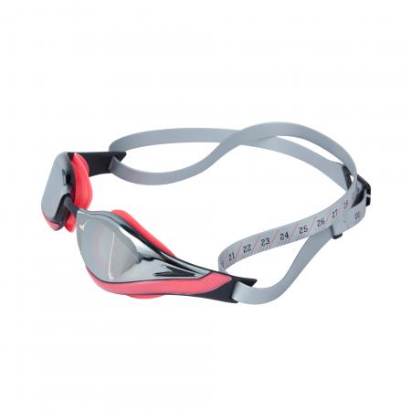 Ochelari inot adulti unisex Speedo Fastskin Pure Focus Mirror rosu/argintiu6