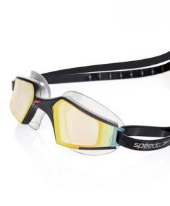 Ochelari inot Speedo pentru adulti Aquapulse max mirror negru/portocaliu3