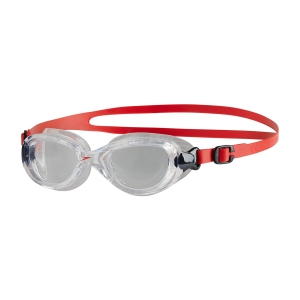 Ochelari inot Speedo pentru copii Futura clasic rosu/transparent0
