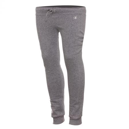 Pantaloni lungi copii Champion Rib Cuff Ultra Light Fall Fleece gri
