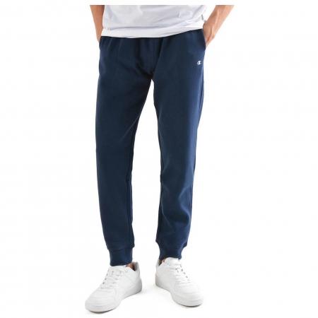 Pantaloni lungi sport barbati Champion Rib Cuff Fall Fleece bleumarin