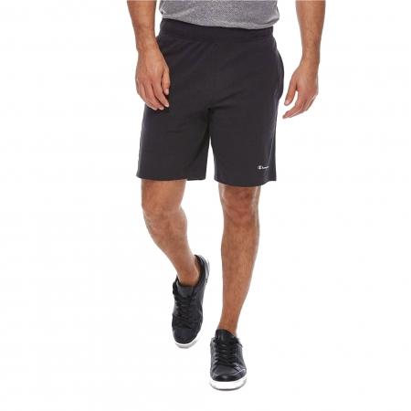 Pantaloni scurti sport barbati Champion Pro Jersey negru2