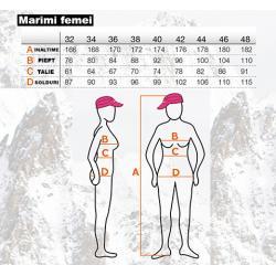 Pantaloni ski femei Ice Peak Trudy alb1
