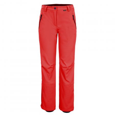 Pantaloni ski femei Ice Peak Riksu rosu0