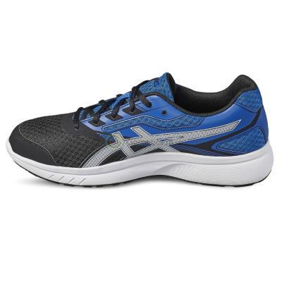 Pantofi sport alergare barbati Asics Stormer argintiu/albastru1