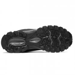 Pantofi sport barbati Brille LOW Soft shell negru/gri2