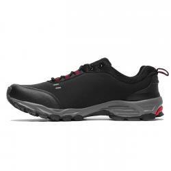 Pantofi sport barbati Brille LOW Soft shell negru/rosu1