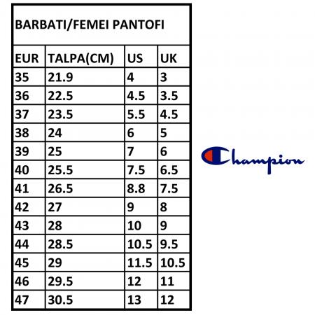 Pantofi sport barbati Champion  Low Cut Shoe PAX 3 negru3