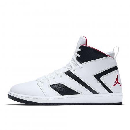 Pantofi sport barbati NIKE JORDAN FLIGHT LEGEND alb/negru