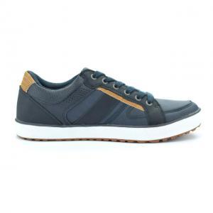 Pantofi sport barbati piele ecologica RNS-162-3014 navy 41-461