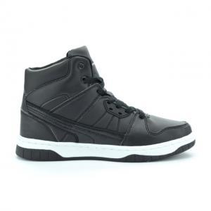 Pantofi sport copii piele ecologica RNS-162-3025 black 36-411