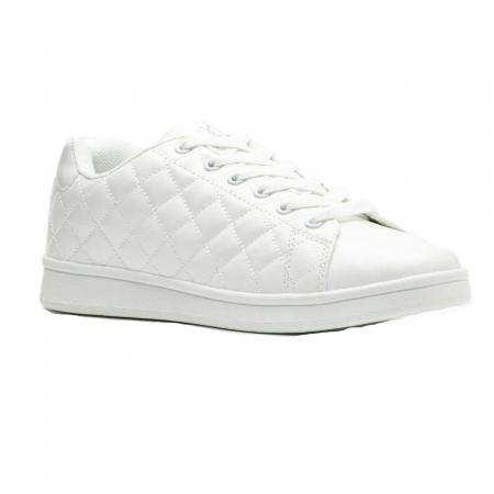 Pantofi sport femei Brille Low Pillow alb0