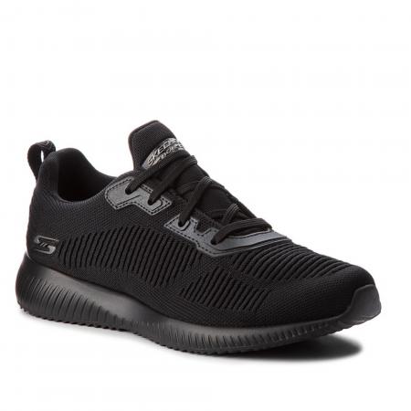 Pantofi sport femei Skechers BOBS SQUAD negru