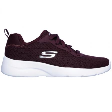 Pantofi sport femei SKECHERS Dynamight 2.0-Eye to Eye visiniu