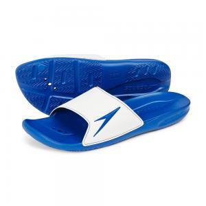 Papuci barbati Speedo Atami II  Alb/Albastru0