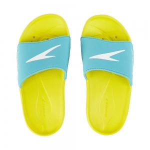 Papuci copii Speedo Atami Core galben/albastru