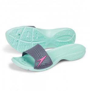 Papuci femei Speedo Atami II Max verde/gri