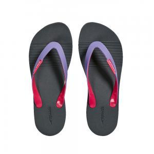 Papuci femei Speedo Saturate II gri/mov