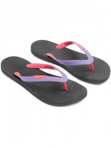 Papuci femei Speedo Saturate II gri/mov1