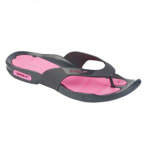 Papuci femei SpeedoPool Surfer roz/gri1
