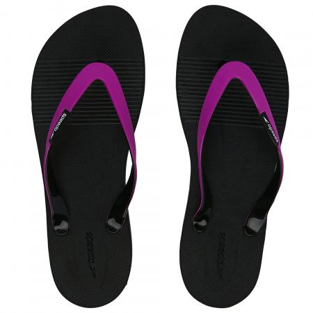 Papuci pentru femei Speedo Saturate II, negru/mov0