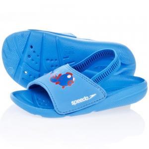 Papuci Speedo copii Atami Sea Squad albastru