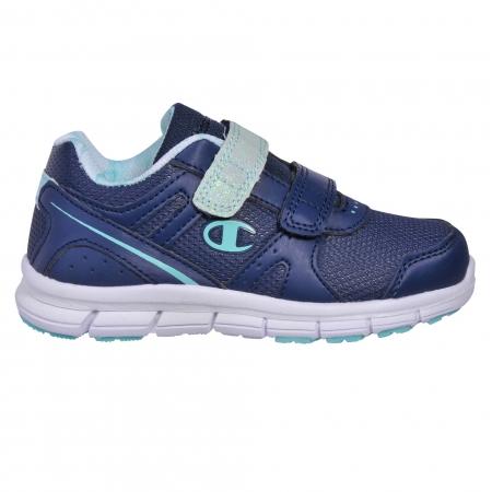 Pantofi sport cu arici copii Champion Low Cut Shoe COMBO PU G bleumarin