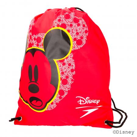Saculet accesorii inot pentru copii Speedo Disney Wet-Kit rosu/negru0