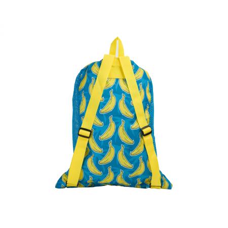 Saculet de plasa pentru accesorii Speedo DeLuxe albastru/galben1