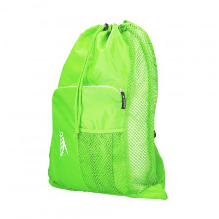 Saculet de plasa unisex pentru accesorii Speedo Deluxe verde1