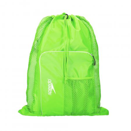 Saculet de plasa unisex pentru accesorii Speedo Deluxe verde0